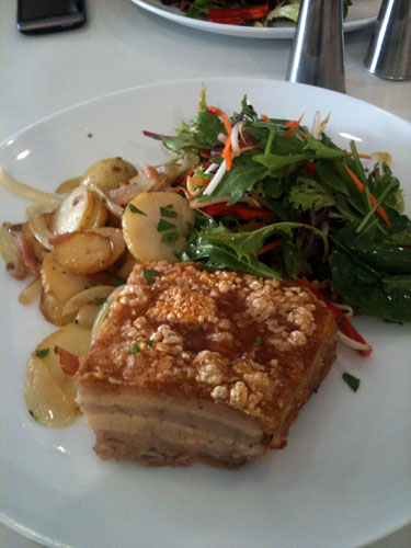 Pork Belly - Eat@99 Cafe