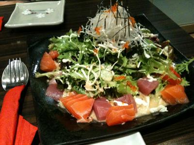 Sashima Salad - Sushi Masa