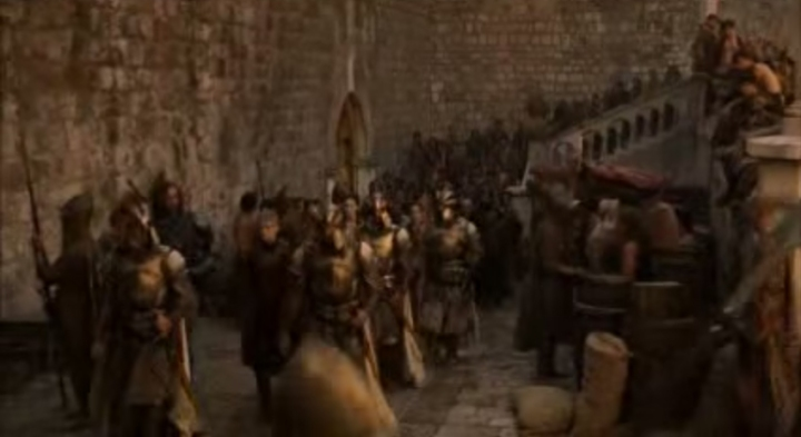 Source: youtube still 'Game of Thrones: Kings Landing Riot' - John Lescano